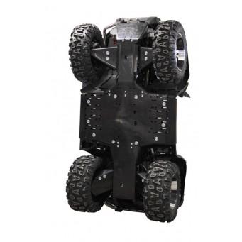 OSLONY SPODU CF Moto CFORCE 800 / 820 X8 Long (800-2) w. Steel A-arms, Plastic