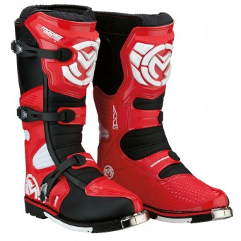 BOOT S18 M1.3 MX RED 8