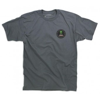 TEE PC PATCH GRY MD