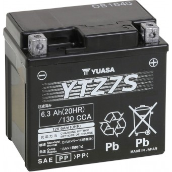 BATTERY WET SEALED YTZ7S