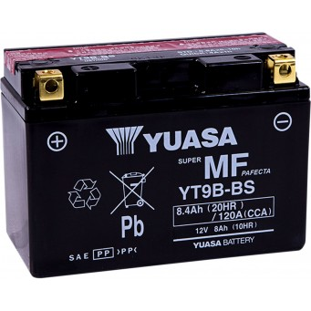BATTERY YT9B-BS .40 LITER