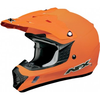 HELMET FX17 ORANGE MD