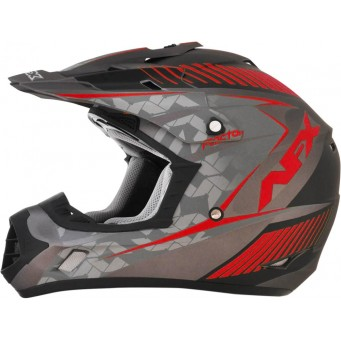 HELMET FX17 FACT FL-RD MD