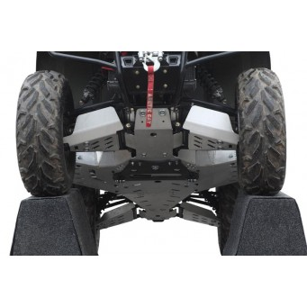 OSLONY SPODU ArcticCat TRV & Alterra TRV (long wheelbase) 500 / 550 / 650 / 700 Aluminium