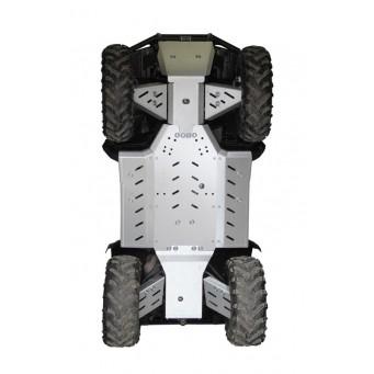 OSLONY SPODU CF Moto 500-2A CLASSIC (LONG) Aluminium