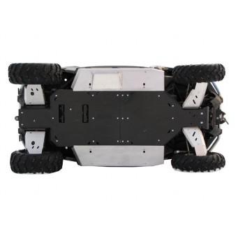 OSLONY SPODU CF Moto ZFORCE 600, narrow track Z6, Plastic + Alu
