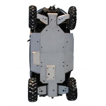 OSLONY SPODU CF Moto ZFORCE 600, narrow track Z6, Aluminium