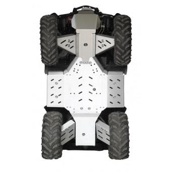 OSLONY SPODU CF Moto CFORCE X5 / X6 SHORT (w. steel bumper front), Aluminium