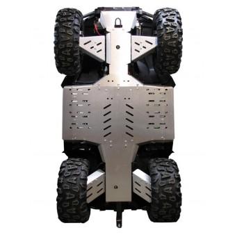 """OSLONY SPODU CF Moto CFORCE 800 / 820 X8 Long (800-2) """"Lux"""" w. Aluminium A-arms, Aluminium"""