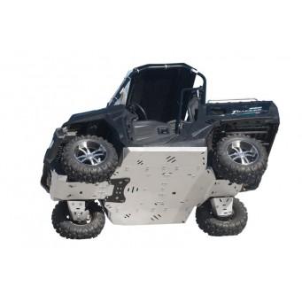 OSLONY SPODU CF Moto UFORCE 800 Tracker & UFORCE 550, Aluminium