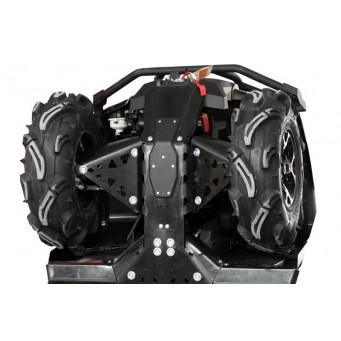 OSLONY SPODU Honda TRX 650 / 680 Rincon Aluminium (...-2014)