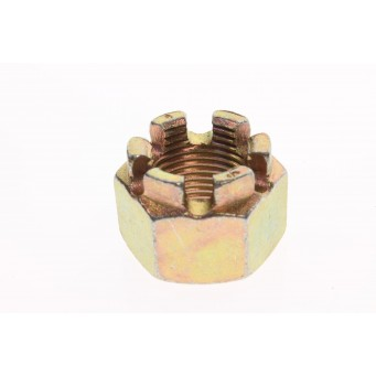Hex. Flanged Castellated Nut M18