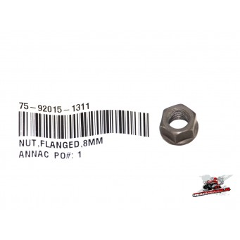 NUT,FLANGED,8MM