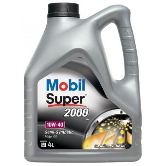 OLEJ MOBIL SUPER 2000 10W40 4L