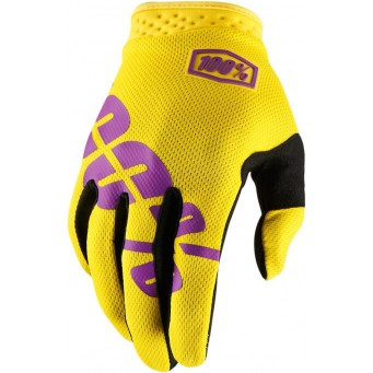 GLOVE ITRACK YELLOW XL